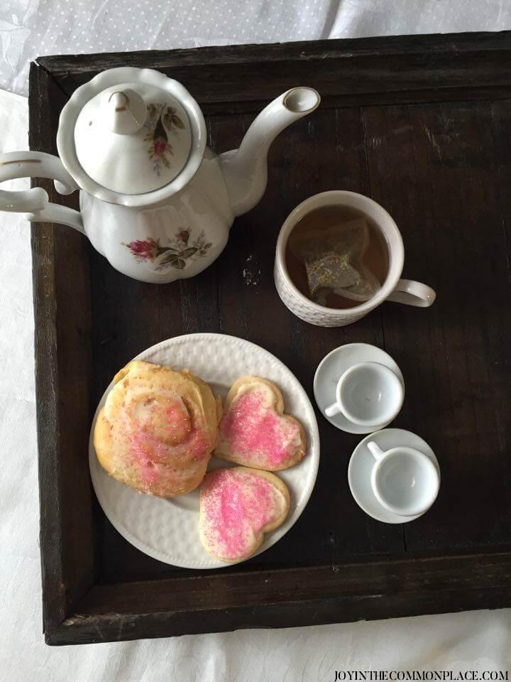 Vintage Valentine's Day Tea Party