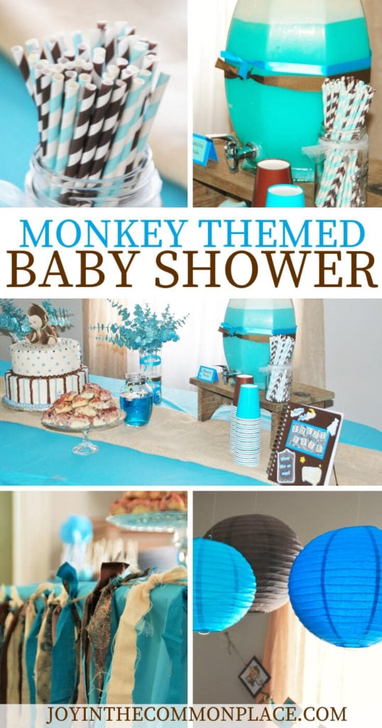 Monkey Themed Baby Shower Ideas