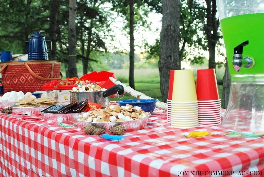 Camping Birthday Party Ideas