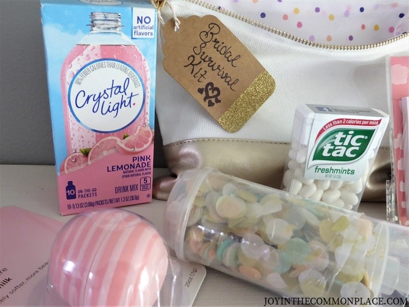 DIY Bridal Survival Kit