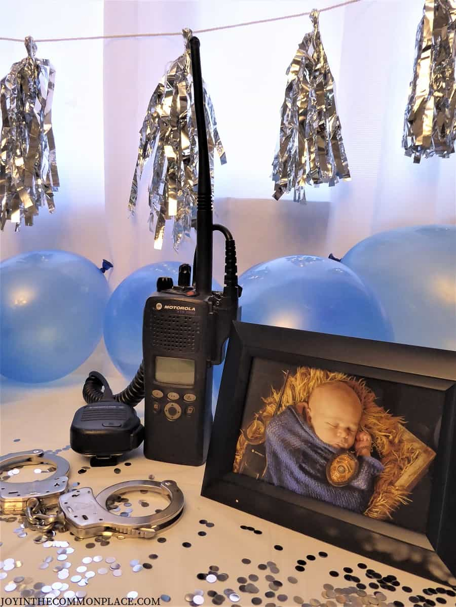 Police Officer Birthday Party