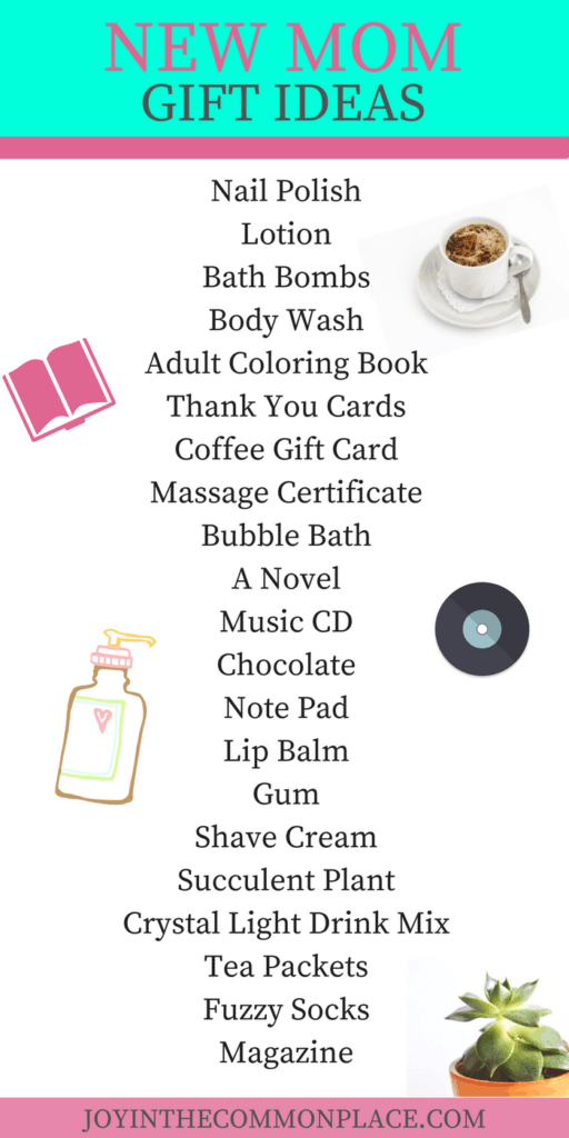 New Mom Gift Ideas