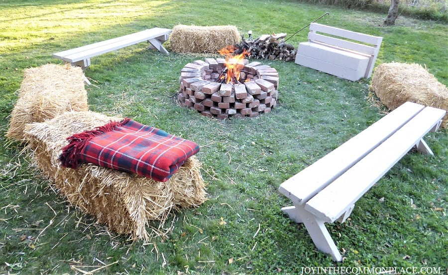 Camp fire Harvest Party