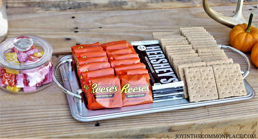 Chocolates & S'mores Harvest Party