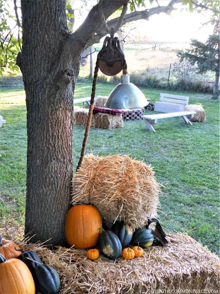 Hay Bales Harvest Party