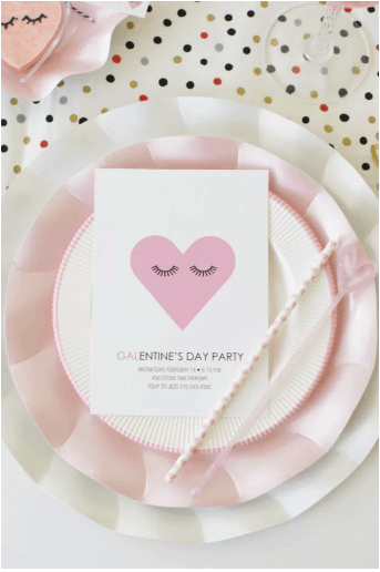 Galentine's Party Easy Tablescape & Free Printables
