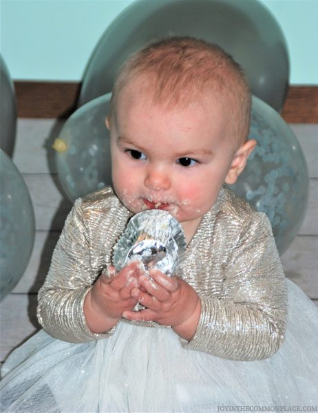 Marah Joy- Swan First Birthday
