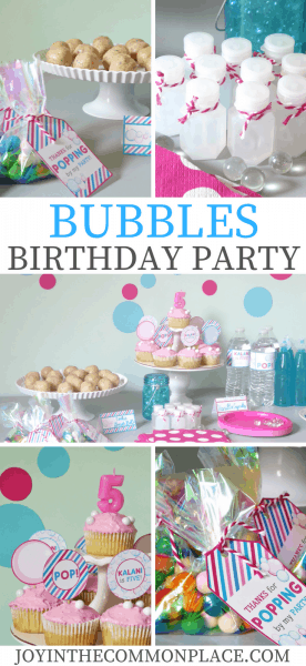 Bubbles Birthday Party