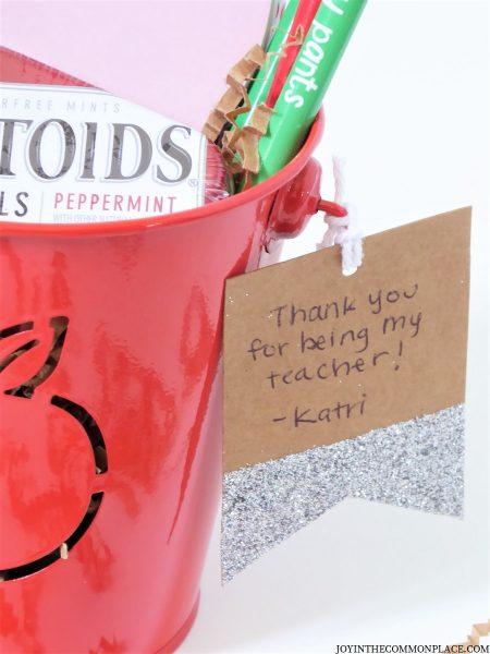 Apple Teacher Appreciation Gift