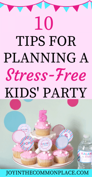 Tips for Planning a Stress-Free Kids' Party