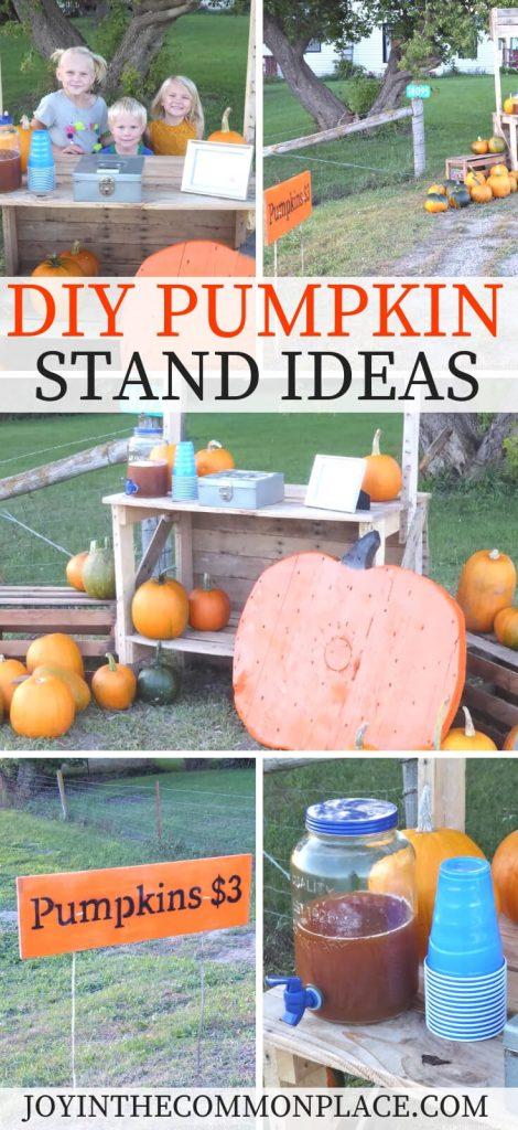 DIY Pumpkin Stand Ideas