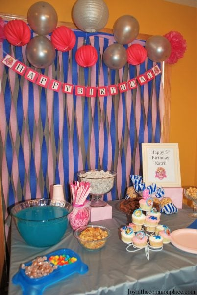 Paw Patrol Skye Birthday Party