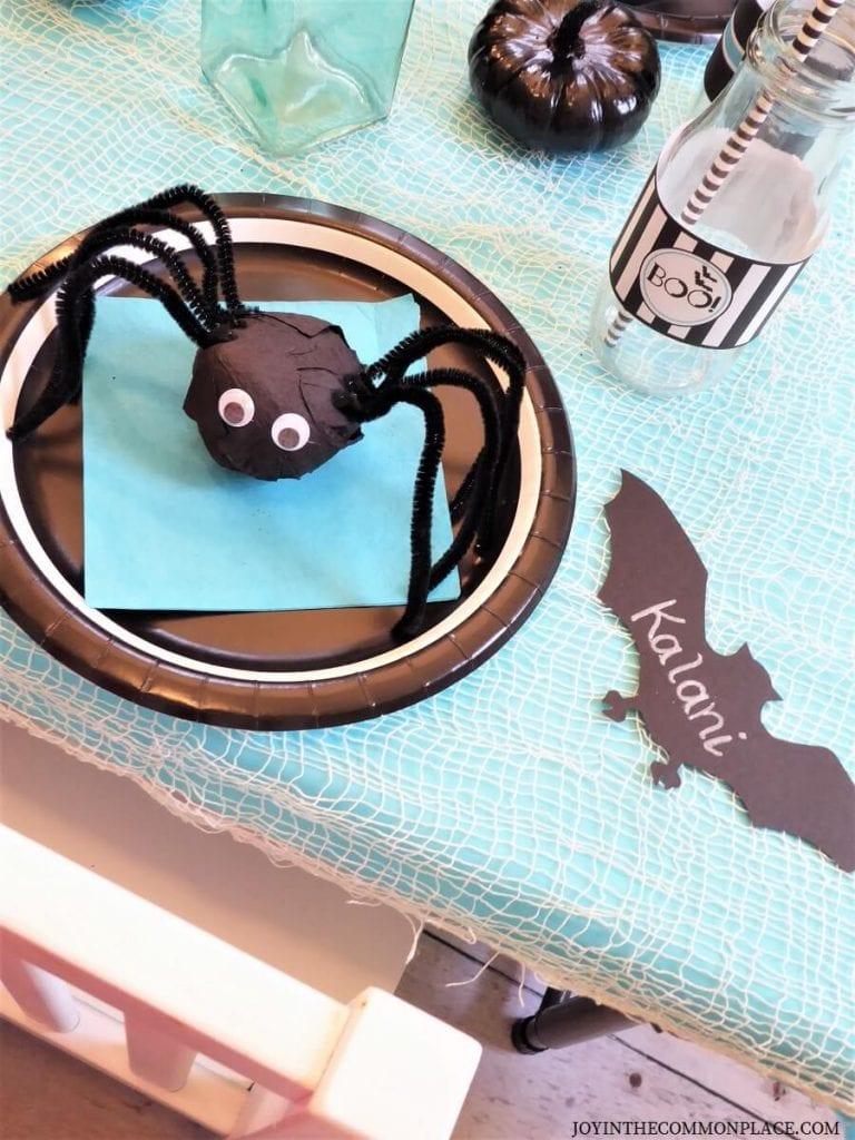 DIY Spider Surprise Ball