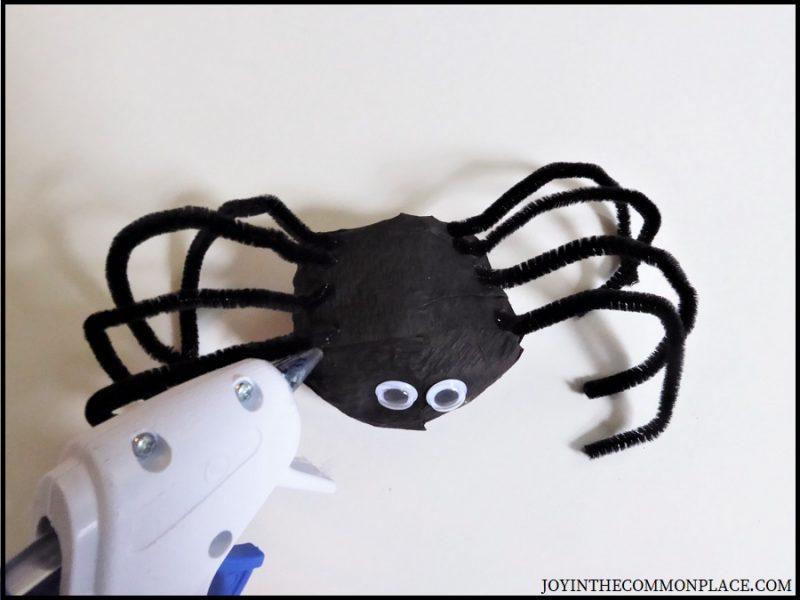 Step 9 - DIY Spider Surprise Ball
