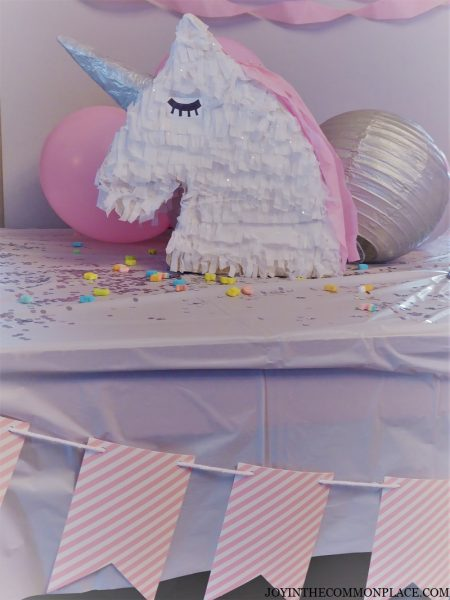 Unicorn Ice Cream Birthday Party