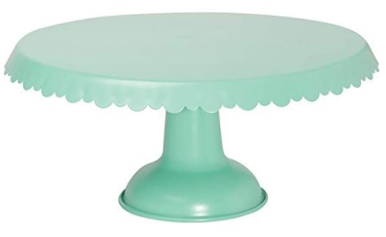 Aqua Cake Stand from Amazon