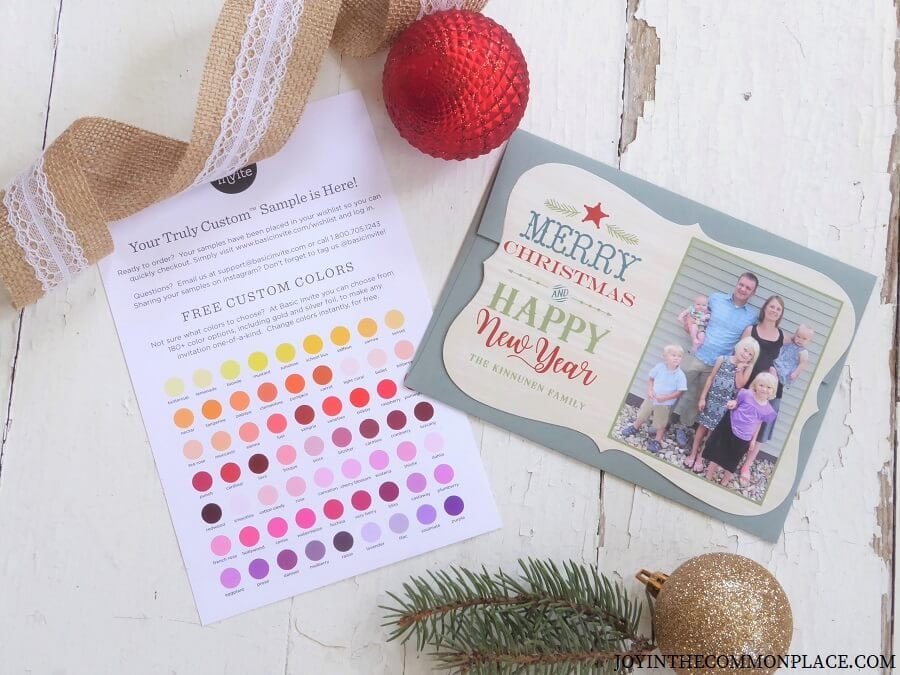6 Reasons to Order Your Christmas Cards With Basic Invite