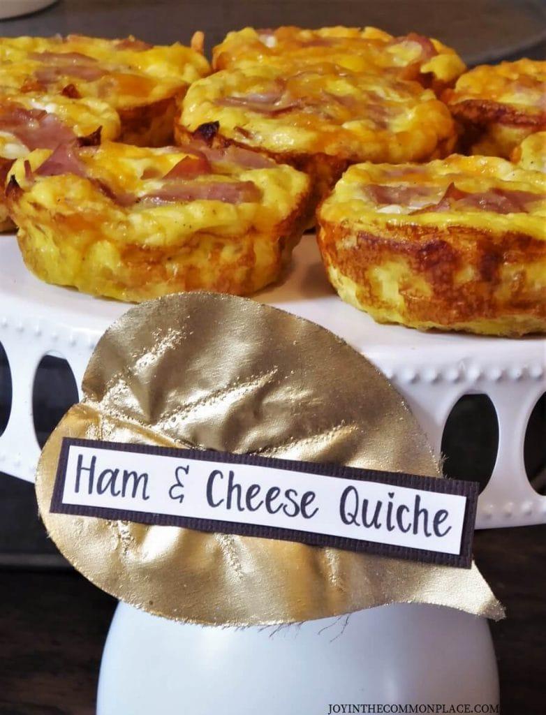 Host a Rustic Fall Breakfast Bar!