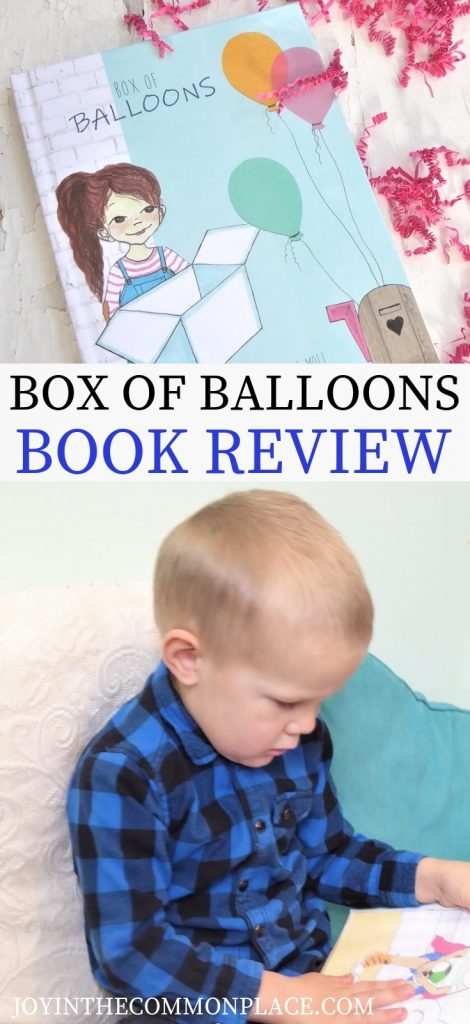 Box of Balloons Book Review
