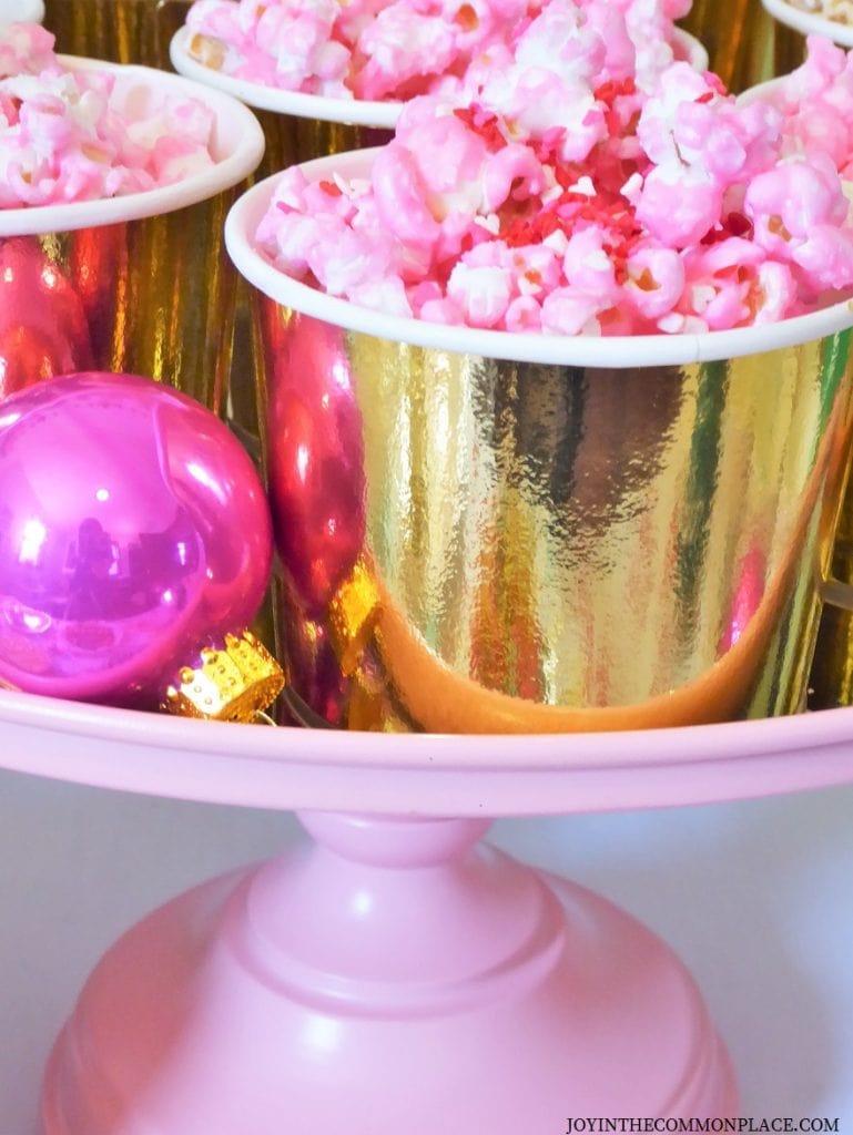 Cindy Lou Inspired Chocolate Popcorn