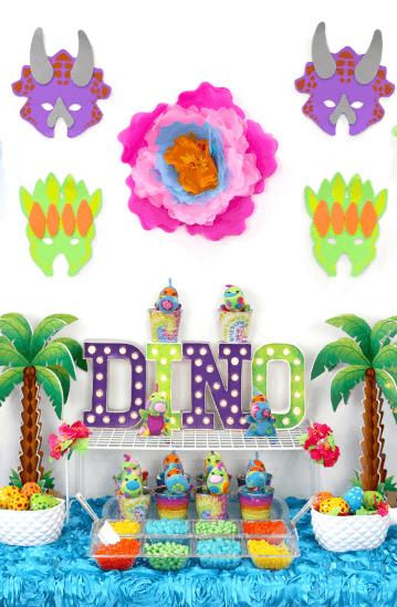Girly Dinosaur Party for Girls