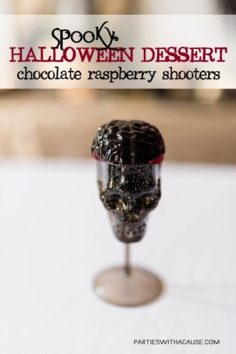 Chocolate-raspberry-spooky-halloween-dessert-shooter-partieswithacause.com-for adults