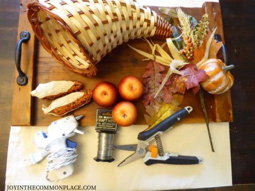 DIY Rustic Thanksgiving Centerpiece