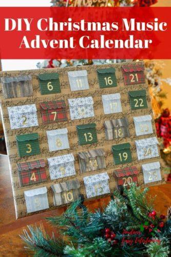DIY Christmas Music Advent Calendar