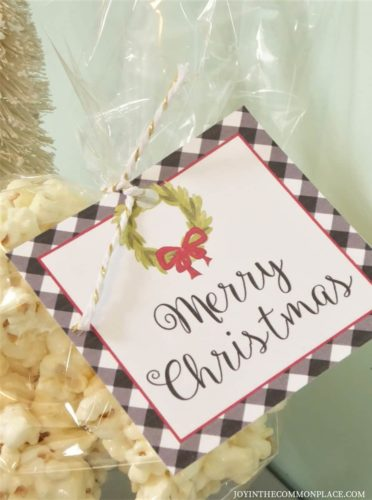 DIY Popcorn Snowball Party Favors and Recipe